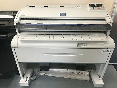 A0 Plan copier, Ricoh FW780, Used, Monochrome, Fully functional, with Paper