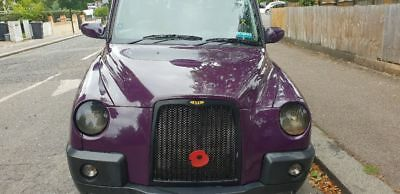 London plated Taxi TX4