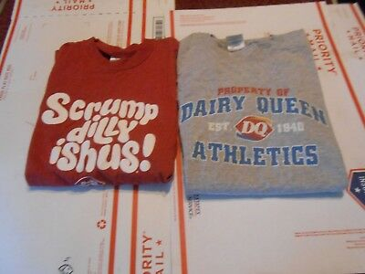 Dairy Queen T Shirt Lot Of 2 Size Small