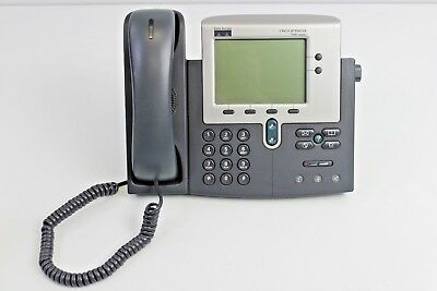 Cisco 7900 Series CP-7940G IP VoIP Business Phone w/ Handset and Stand