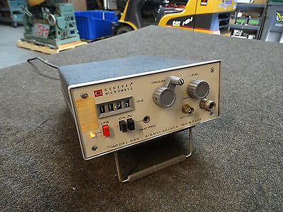 General Microwave 525 Signal Source 12.0 - 18.0 GHz