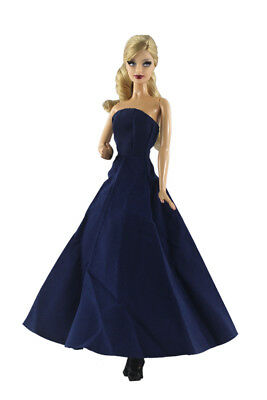 Blue Fashion Princess Dress/Clothes/Gown For 11 in. Doll d01
