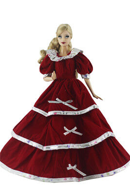 Fashion Princess Dress/Clothes/Gown For 11 in. Doll d08