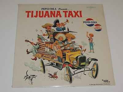 PEPSI COLA PRESENTS TIJUANA TAXI Lp RECORD GEORGE GARABEDIAN LATIN 1976 SEALED