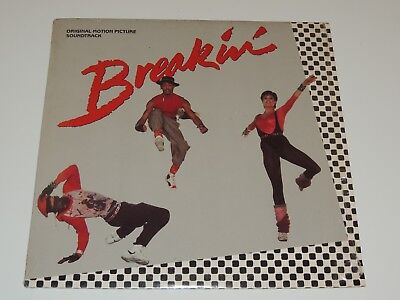 BREAKIN SOUNDTRACK Lp RECORD CLUB EDITION VARIOUS BREAKDANCE RAP ICE T RECKLESS