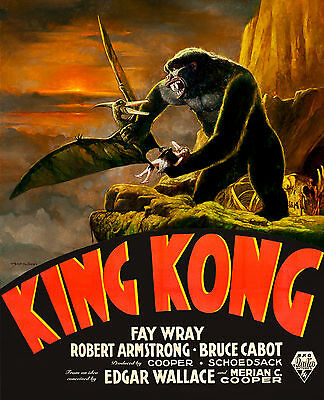 King Kong Limited Edition Print - Signed by Sanjulian