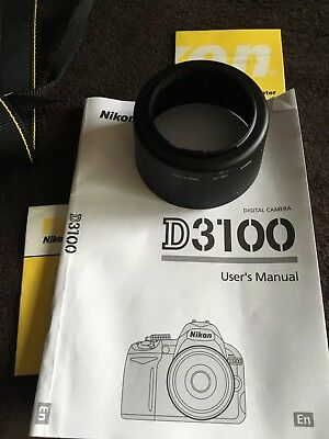 Nikon D D3100 14.2 MP Digital SLR Camera with 18-55mm and 55-200mm lenses