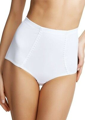 Fantasie Rebecca High Waisted Smoothing Brief Knickers 2028 White XS 8