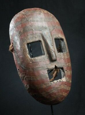 Kumu Face Mask, D.R. Congo, African Tribal Arts, African Masks