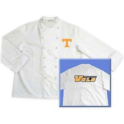 Tennessee University Volunteers Classic Chef Chefs Coat Jacket Sizes: M L XL