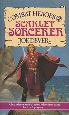 Scarlet Sorcerer (Combat Heroes 2) by Dever, Joe Paperback Book The Cheap Fast