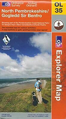 North Pembrokeshire (OS Explorer Map) by Ordnance Survey Book The Cheap Fast