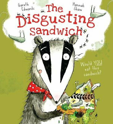 The Disgusting Sandwich by Gareth Edwards Book The Cheap Fast Free Post