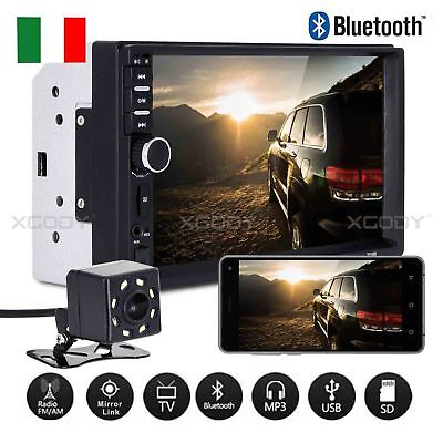"Quad Core Android 3G WiFi 7"" 2DIN Autoradio Bluetooth Stereo MP5 MP3 Player"