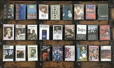 U PICK lot 4 Music Cassette Tapes Rock Jazz Folk Musicals Classical Praise Xmas