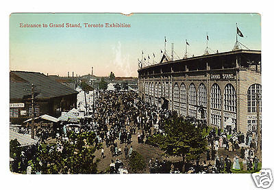 1913 Canadian National Exhibition Toronto Entrance to Grand Stand