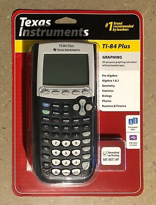 Texas Instruments TI-84 Plus Graphing Calculator Brand New Factory Sealed