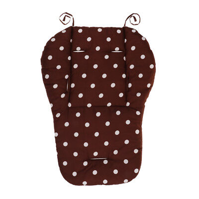 Baby Stroller/High Chair Seat Cushion Liner Mat Pad Cover Protector Coffee