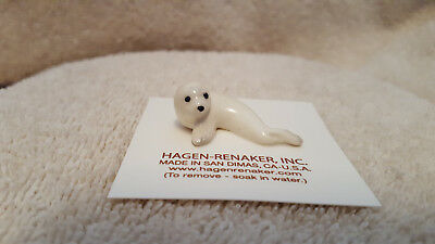 Hagen Renaker Harp Seal Figurine Miniature Collect Gift New Free Shipping 02014