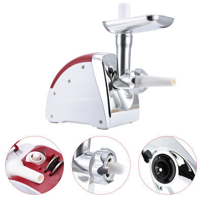 Electric Meat Grinder Commercial Butcher Supply 2800W Mincer 9 Accessory US