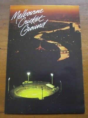 Retro Vintage Large Postcard: MCG Melbourne Cricket Ground #3