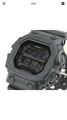 Casio G-Shock GX56BB*Large Black Dial Wrist Watch*US SELLER*New