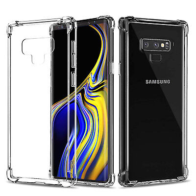 Ultra Thin Slim Fit Soft Silicone TPU Cover Case For Samsung Galaxy Note 9 8