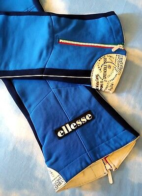 TRACKSUIT SKI-sci vintage 70's ELLESSE  tg. 54 -L/XL  circa Made in Italy RARE