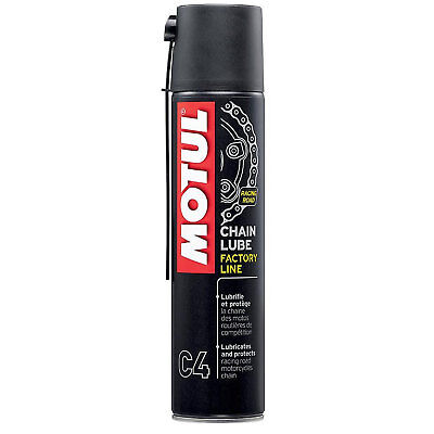 Motul CHAIN LUBE C4 Factory Line O-RING  X-RING  Z-RING 400ml Aerosol Spray