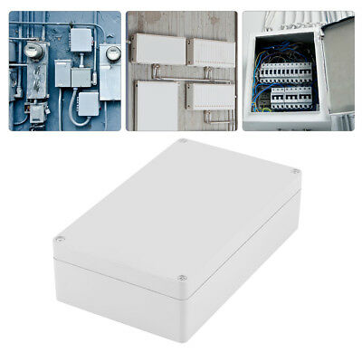 Waterproof ABS Junction Boxes Outdoor Electric Wire Connection Enclosure Case US