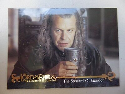 TOPPS Card : LOTR The Return Of The King  #156 THE STEWARD OF GONDOR