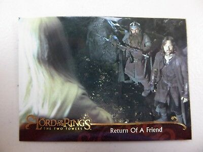TOPPS Lord of the Rings: The Two Towers - Card #109 RETURN OF A FRIEND
