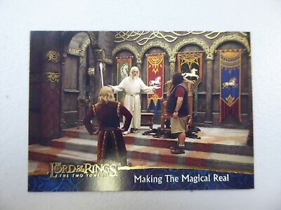 TOPPS Lord of the Rings: The Two Towers - Card #84 MAKING THE MAGICAL REAL