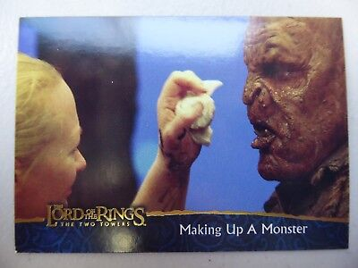 TOPPS Lord of the Rings: The Two Towers - Card #89 MAKING UP A MONSTER
