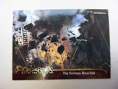 TOPPS Lord of the Rings: The Two Towers - Card #139 THE FORTRESS BREACHED