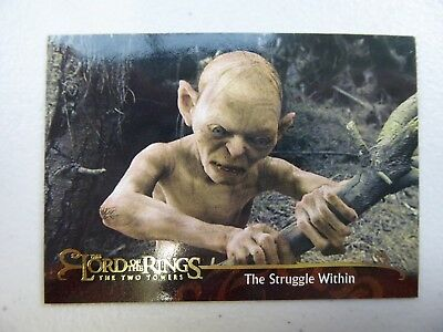 TOPPS Lord of the Rings: The Two Towers - Card #151 THE STRUGGLE WITHIN