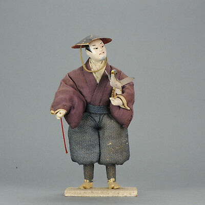 Lovely Japanese Ningyo Doll. Japan 19th & 20th century