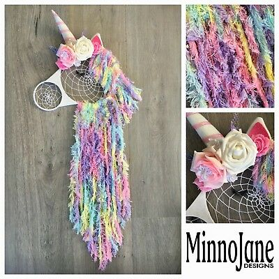 Unicorn Dream Catcher Wall Hanging