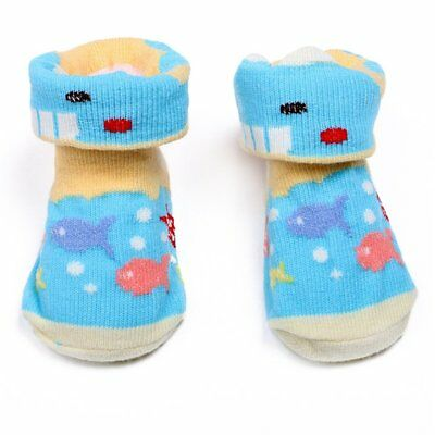 6 Pairs Cotton Mix Color Infant Baby Boys Colorful Warm Socks FE