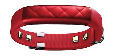 UP3 by Jawbone Sleep and Activity Tracker Bluetooth Wristband Fitness Ruby Cross