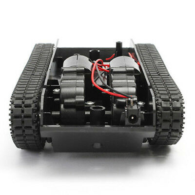New Robot Tank Car Chassis Smart Kit Rubber Track Crawler For Arduino 130 Motor