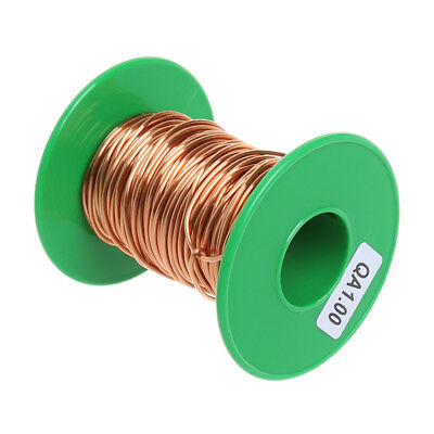 100Grams/lot 12m Polyurethane Enameled Copper Wire 1.0mm QA-1/155 Welding Wires