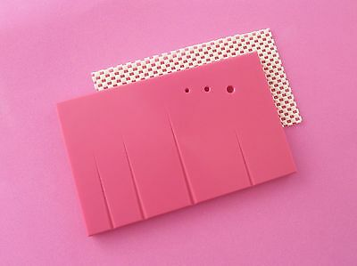 Non Stick Sugarcraft & Leaf Veining Boards, Cake Decorating, Rolling out, PINK