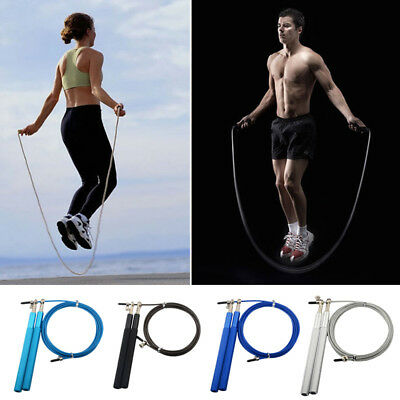 High Speed Skipping Rope Jump Rope Boxing Home Gym Fitness Workout Weighted