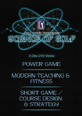 Science Of GOLF-3PK DVD