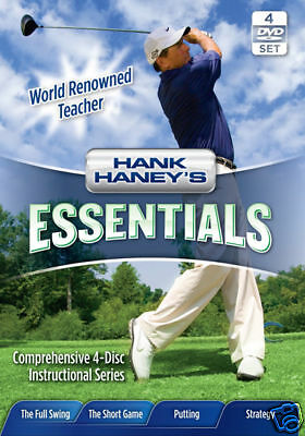 "Hank HANEY'S Essentials con / Bono ""Estrategia"" DVD-4PK"