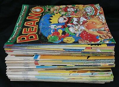 Lot of 88 Beano Comics 1997 - 1998