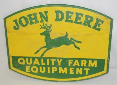 Open Roads LP67211 Classic Logo John Deere Quality Farm Equipment Sign