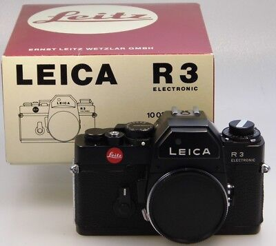 "Leica R3 Electronic ""Made in Germany"""