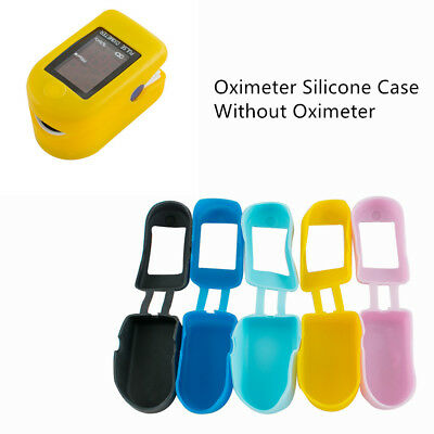 Promotion Yellow Silicone Rubber Case Bag for Handheld Pulse Oximeter SPO2/RP